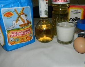 Оладьи рецепт классический на молоке - фото шаг 1