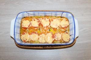 Горбуша с помидорами и сыром в духовке - фото шаг 11