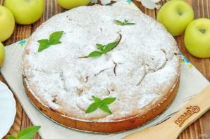 Диетический пирог с яблоками - фото шаг 8