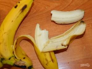 Молочный коктейль с малиной и бананом - фото шаг 1