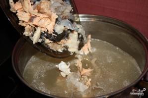 Суп из головы семги - фото шаг 5