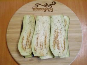 Жареные баклажаны с начинкой - фото шаг 3