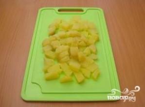 Салат с семгой и картофелем - фото шаг 3