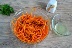 Морковь по-корейски без уксуса - фото шаг 5