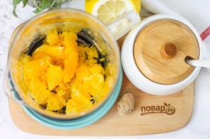 Апельсиновый чай с имбирем - фото шаг 2