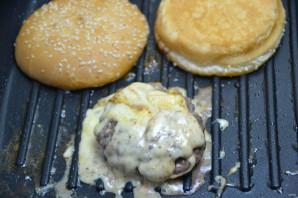 Сырный бургер - фото шаг 6