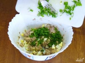 Заливной пирог с рыбой и яйцами - фото шаг 4