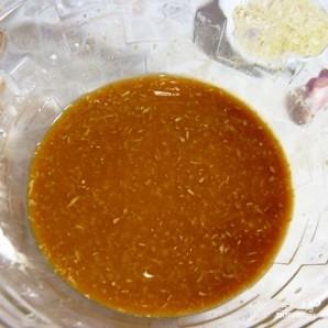 Куриный шашлык в соевом маринаде с маслинами - фото шаг 1