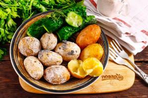 Картошка печеная в золе - фото шаг 5