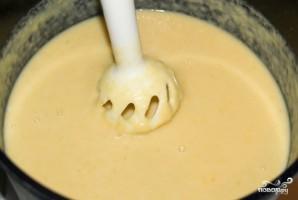 Картофельный суп-пюре с гренками - фото шаг 4