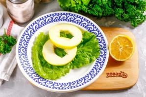 Салат с креветками и яблоком - фото шаг 2