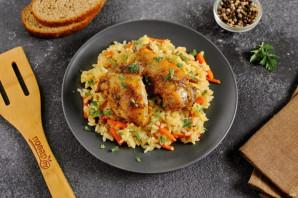 Курица с рисом в духовке - фото шаг 9
