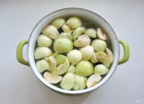 Компот из яблок, груш и алычи - фото шаг 4