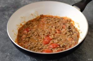 Чечевица в томатном соусе - фото шаг 7
