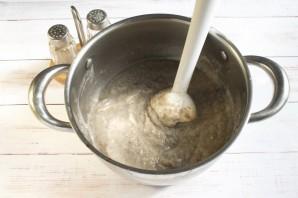 Суп-пюре с шампиньонами и картофелем - фото шаг 5