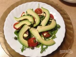 Теплый картофельный салат с авокадо - фото шаг 6