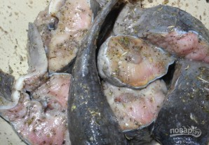 Барбекю из рыбы - фото шаг 2