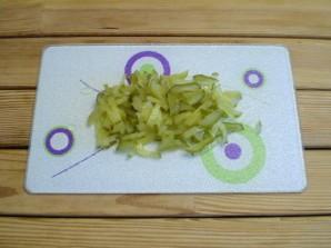 Картошка с солеными огурцами - фото шаг 6