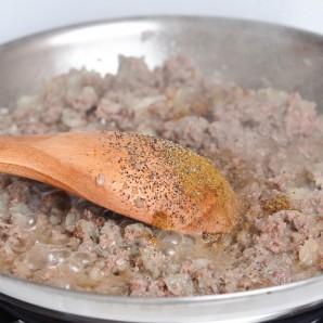 Блинчики с мясом - фото шаг 6