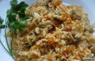 Мидии с рисом - фото шаг 6