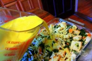 Страта со шпинатом и сыром - фото шаг 7