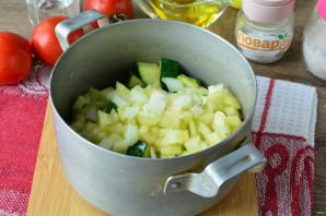 Цукини с помидорами и перцем на зиму - фото шаг 6