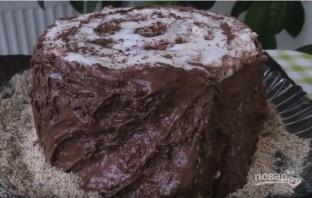 """Торт """"Трухлявый пень"""" (как сметанник) - фото шаг 13"""