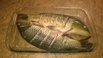 Рыба со сметаной - фото шаг 2