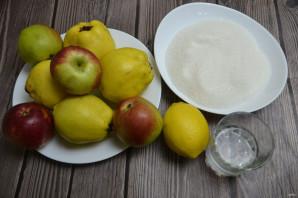 Варенье из айвы с яблоками - фото шаг 1
