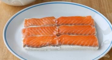 Суши по-русски из красной рыбы - фото шаг 8