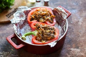 Болгарский перец фаршированный куриной печенью - фото шаг 6