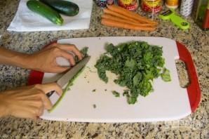 Перуанский суп с овощами и фасолью - фото шаг 4