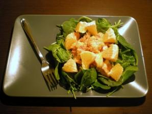 Салат с курицей и апельсинами - фото шаг 3