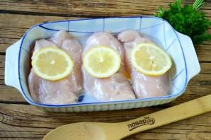 Курица с лимоном под грибным соусом - фото шаг 3