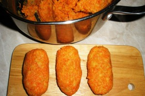 Вегетарианские котлеты в духовке - фото шаг 3