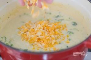 Крем-суп с сыром и брокколи - фото шаг 5