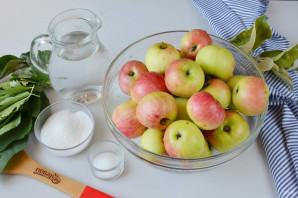 Яблоки, моченые на зиму - фото шаг 1