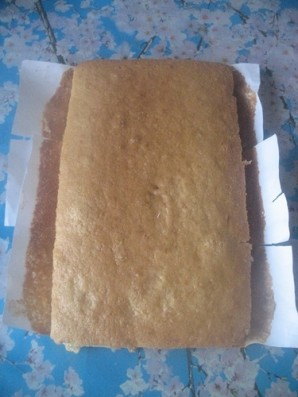 "Торт ""Единичка для мальчика"" - фото шаг 1"