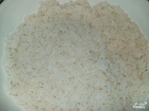 Фаршированные кальмары с рисом и яйцом - фото шаг 1