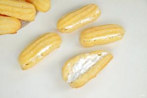 Эклеры с белковым кремом - фото шаг 11