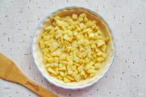Яблочный пирог с решеткой - фото шаг 11