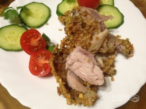 Куриные голени в ореховой корочке - фото шаг 10