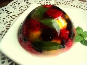 Фруктово-ягодное желе - фото шаг 3
