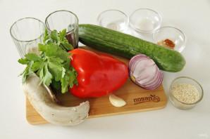 Китайский салат с языком - фото шаг 1
