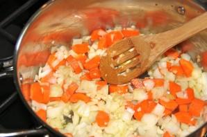 Морской окунь с овощным рагу - фото шаг 1