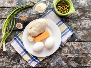 Салат с филе курицы - фото шаг 1