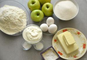 Царский пирог из яблок - фото шаг 1