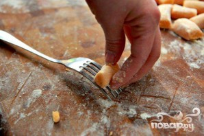 Ньокки из сладкого картофеля с сырным соусом - фото шаг 5