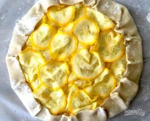 Легкий овощной тарт с сыром - фото шаг 5