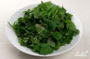 Зеленый борщ с крапивой - фото шаг 7